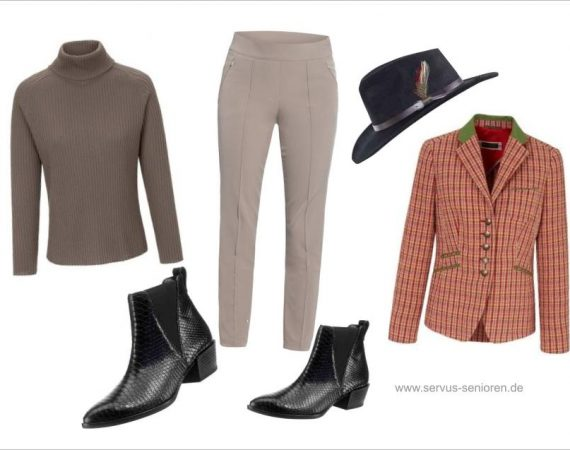 Outfit im British Style
